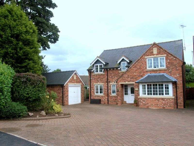 4 Bedrooms Detached House for sale in Moss Lane, Madeley