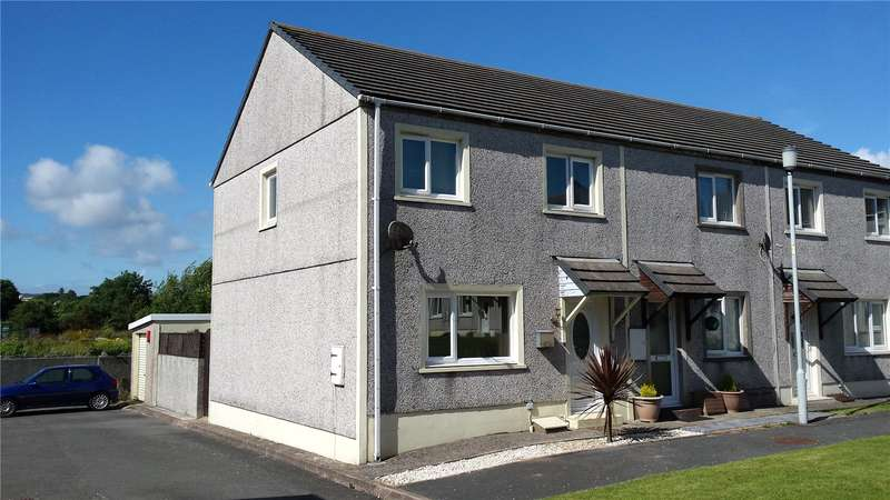 2 Bedrooms Semi Detached House for sale in Howells Close, Monkton, Pembroke