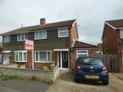 4 Bedrooms Semi Detached House for sale in Whalley Drive, Bletchley, Milton Keynes