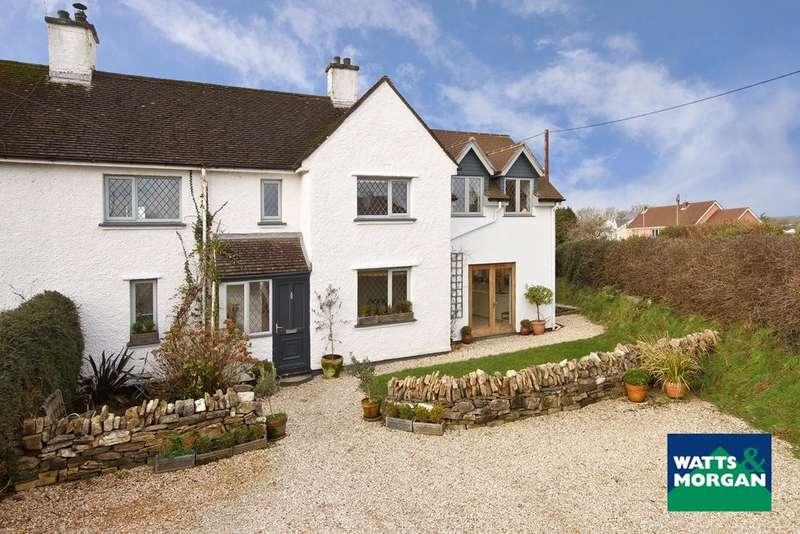 4 Bedrooms Semi Detached House for sale in Love Lane, Llanblethian, Cowbridge, Vale Of Glamorgan, CF71 7JQ