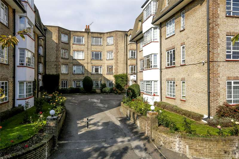 2 Bedrooms Flat for sale in Woodside House, Woodside, London, SW19