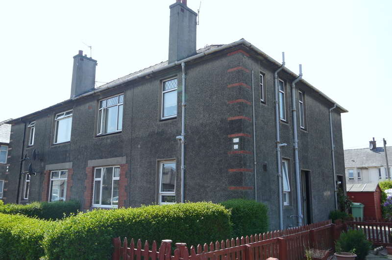 2 Bedrooms Ground Flat for sale in Springbank Road, Ayr, KA8