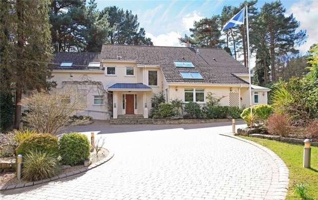 6 Bedrooms Detached House for sale in Bury Road, Branksome Park, Poole, Dorset