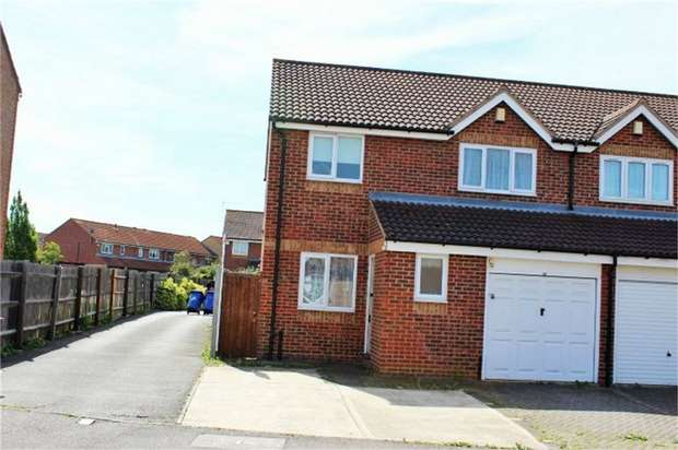 4 Bedrooms Semi Detached House for sale in Danbury Crescent, South Ockendon, Essex
