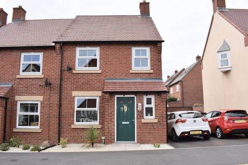 3 Bedrooms Semi Detached House for sale in Hope Way, Swadlincote