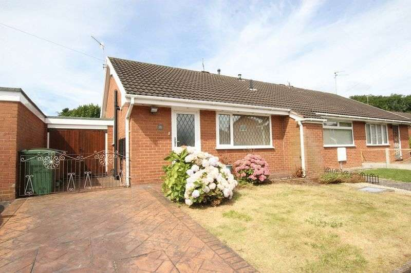 1 Bedroom Semi Detached Bungalow for sale in Aylsham Drive, Upton, Wirral