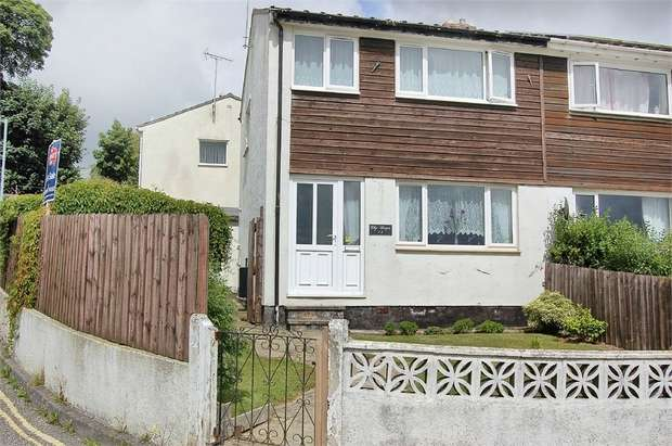 3 Bedrooms Semi Detached House for sale in Omaha Road, Bodmin, Cornwall