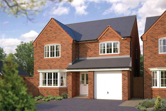 4 Bedrooms Detached House for sale in Hatchwood Mill, Mill Lane, Sindlesham, Wokingham, RG41