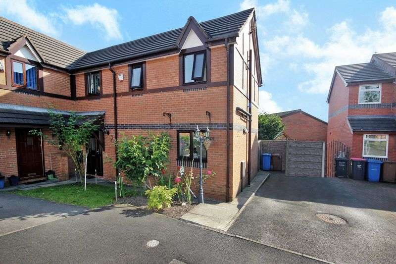 3 Bedrooms Semi Detached House for sale in Wood Cottage Close, Worsley