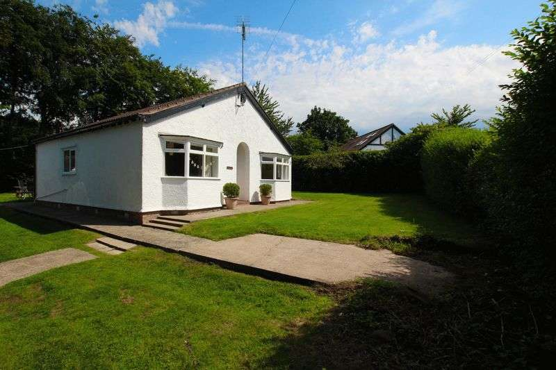 3 Bedrooms Detached Bungalow for sale in School Avenue, Little Neston