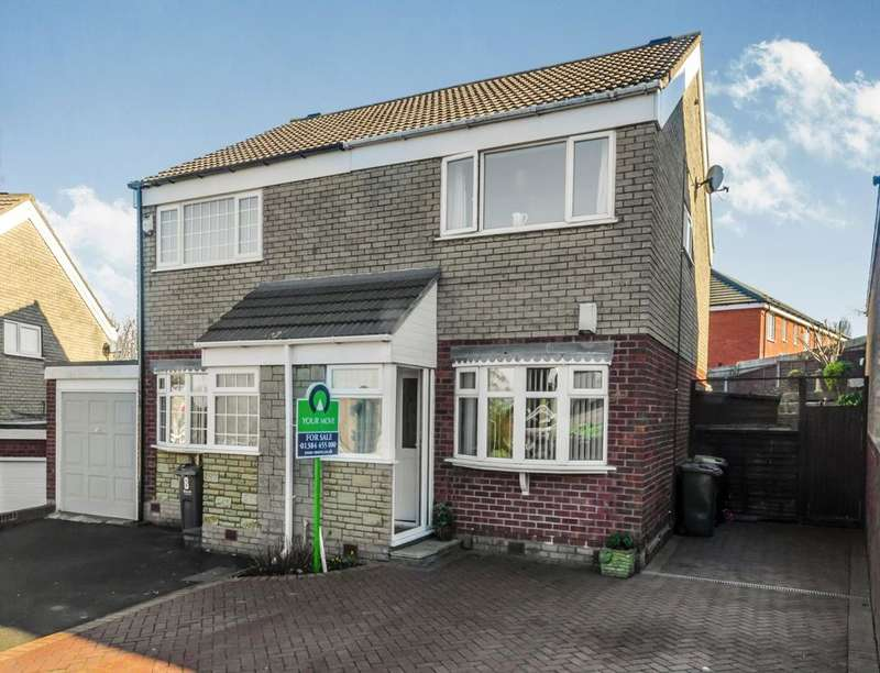 3 Bedrooms Semi Detached House for sale in Harlech Close, Tividale, Oldbury, B69