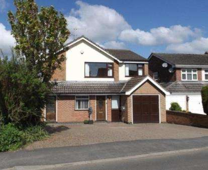 4 Bedrooms Detached House for sale in Stretton Road, Great Glen, Leicester, Leicestershire