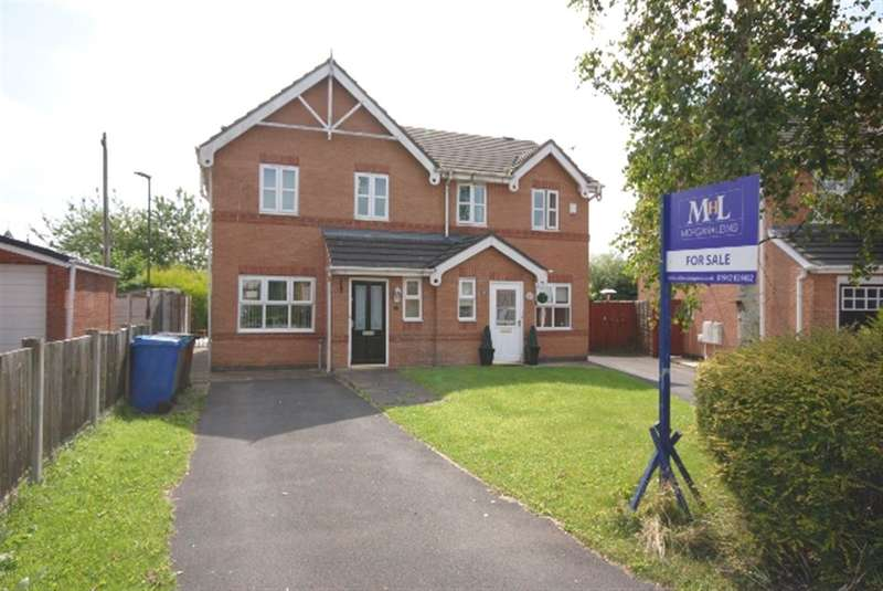 3 Bedrooms Semi Detached House for sale in Lyon Road, Springfield, Wigan, WN6