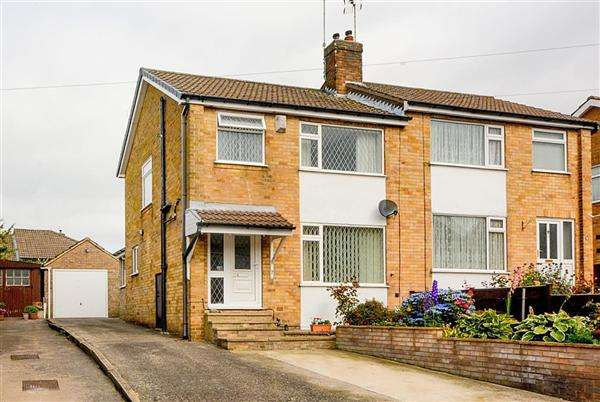 3 Bedrooms Semi Detached House for sale in Knox Grove, Harrogate