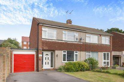 3 Bedrooms Semi Detached House for sale in Brookthorpe, Gloucestershire, Yate, Gloucestershire