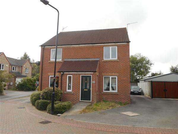 2 Bedrooms Semi Detached House for sale in St Pancras Close, Laughton Common, Sheffield