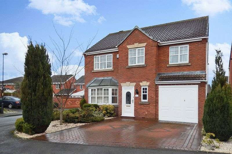 5 Bedrooms Detached House for sale in Millers Walk, Pelsall