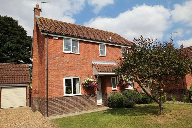 4 Bedrooms Detached House for sale in Rectory Gardens, Hingham, Norwich