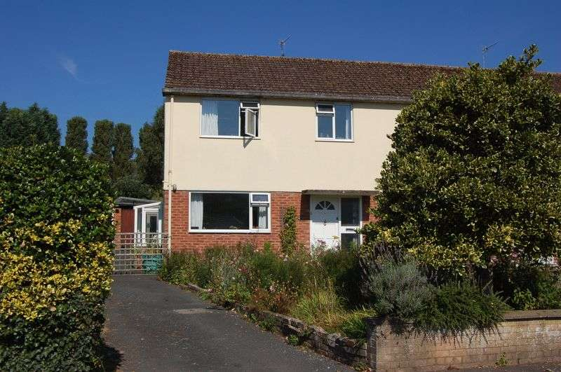 3 Bedrooms Semi Detached House for sale in Dixton Close, Monmouth