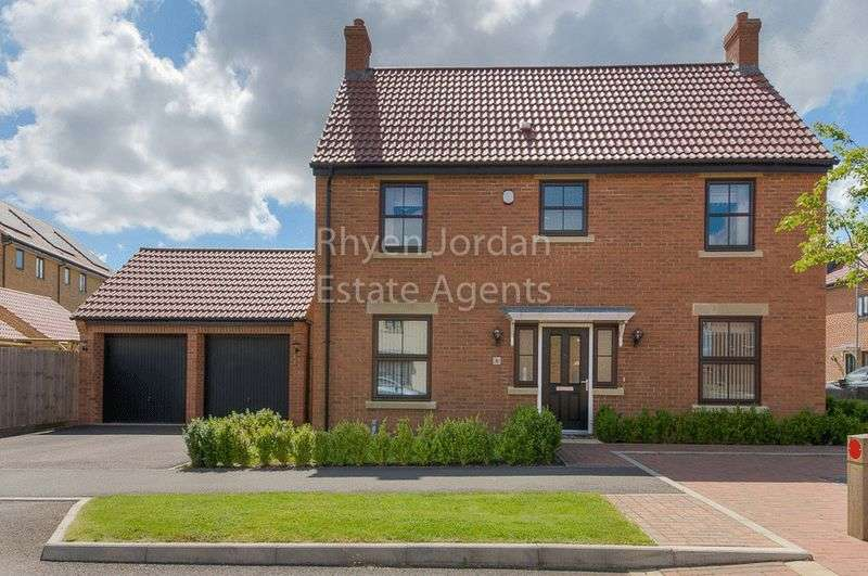 4 Bedrooms Detached House for sale in Westcroft, Milton Keynes