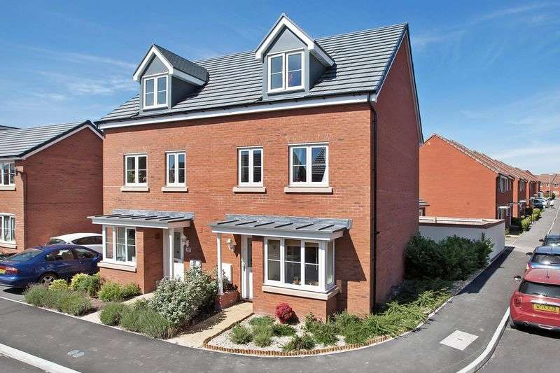 4 Bedrooms Semi Detached House for sale in LILLIANA WAY, WILSTOCK