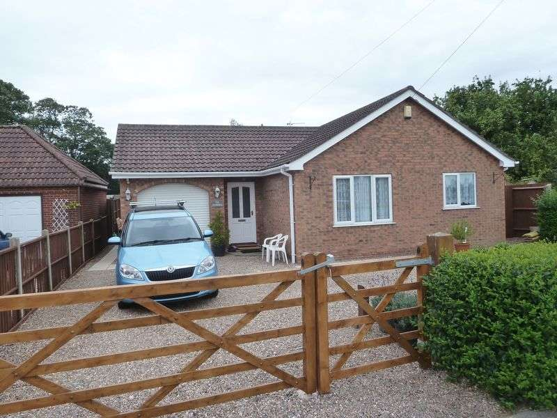 2 Bedrooms Detached Bungalow for sale in Gunby Road, Orby, Skegness