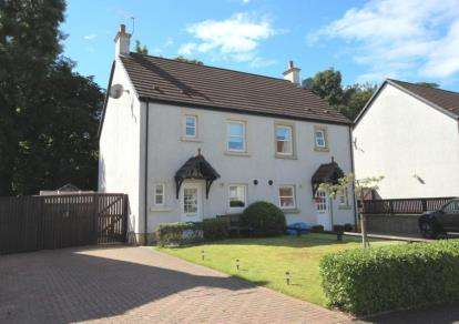 3 Bedrooms Semi Detached House for sale in Noddleburn Meadow, Largs