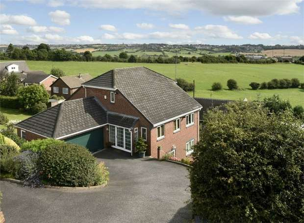 4 Bedrooms Detached House for sale in Valley Road, Thornhill, Near Wakefield, West Yorkshire