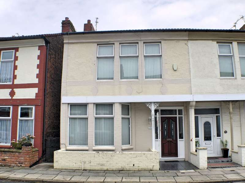 4 Bedrooms Semi Detached House for sale in First Avenue, Liverpool, L9 9DN