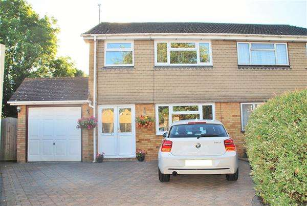 3 Bedrooms Semi Detached House for sale in BROOKSIDE, HOO ST. WERBURGH