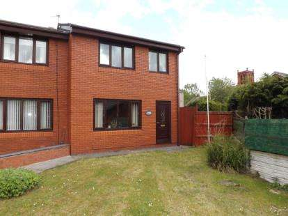 3 Bedrooms Semi Detached House for sale in Nathaniel Court, Platt Bridge, Wigan, Greater Manchester