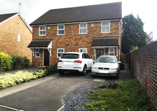 3 Bedrooms Semi Detached House for sale in Ladbroke Close, Woodley, Reading, Berkshire, RG5