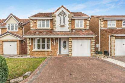 4 Bedrooms Detached House for sale in Beechfield Rise, Coxhoe, Durham, DH6