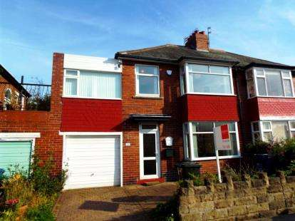 5 Bedrooms Semi Detached House for sale in Ridgewood Crescent, Newcastle upon Tyne, Tyne and Wear, NE3