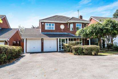 5 Bedrooms Detached House for sale in Magdalene Road, Walsall, West Midlands, Magelene
