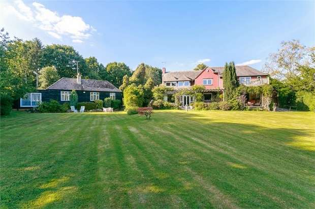5 Bedrooms Detached House for sale in Batts Bridge Road, Piltdown, Uckfield, East Sussex