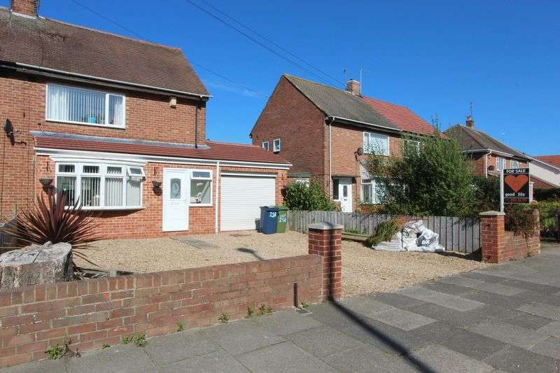 2 Bedrooms Semi Detached House for sale in 214 Leechmere Road, Leechmere, Sunderland