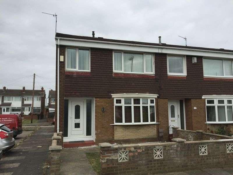 3 Bedrooms Terraced House for sale in Truro Way, Jarrow