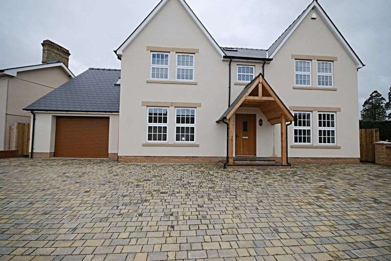 5 Bedrooms Detached House for sale in NEW BUILD - St Brides, Between Newport and Cardiff