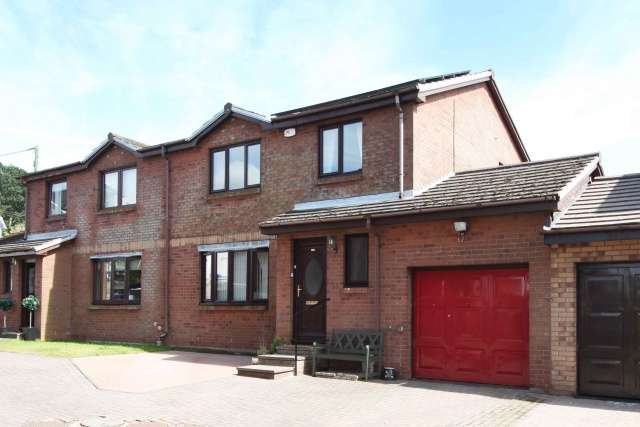 3 Bedrooms Semi Detached House for sale in Pleasance Court, Halbeath, Dunfermline, Fife, KY12 0TD