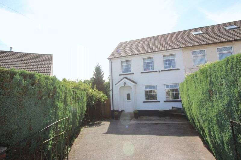 3 Bedrooms Semi Detached House for sale in Maesgwyn, Cwmbran