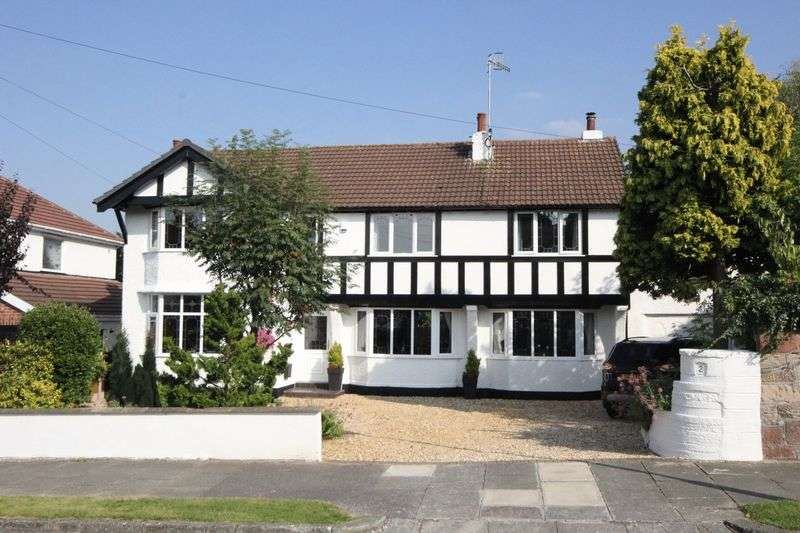 5 Bedrooms Detached House for sale in Heath Drive, Upton, Wirral