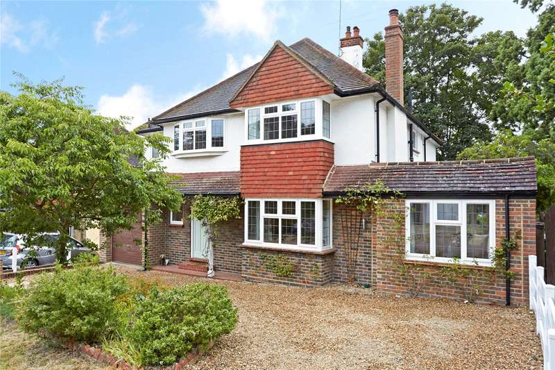 5 Bedrooms Detached House for sale in Birches Close, Epsom, Surrey, KT18