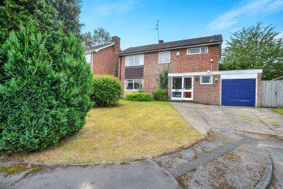 4 Bedrooms Detached House for sale in The Birches, Ravenshead, Nottingham, Nottinghamshire