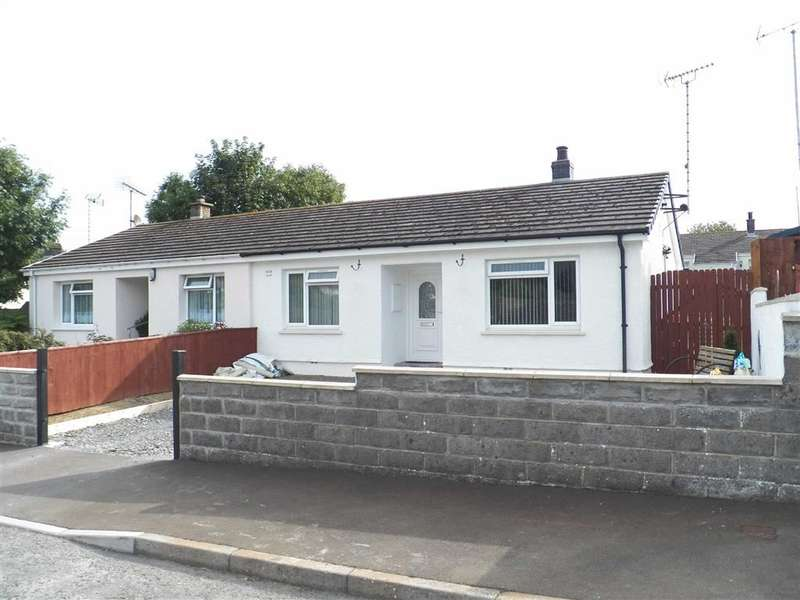 2 Bedrooms Semi Detached Bungalow for sale in Brynglas, ABERPORTH