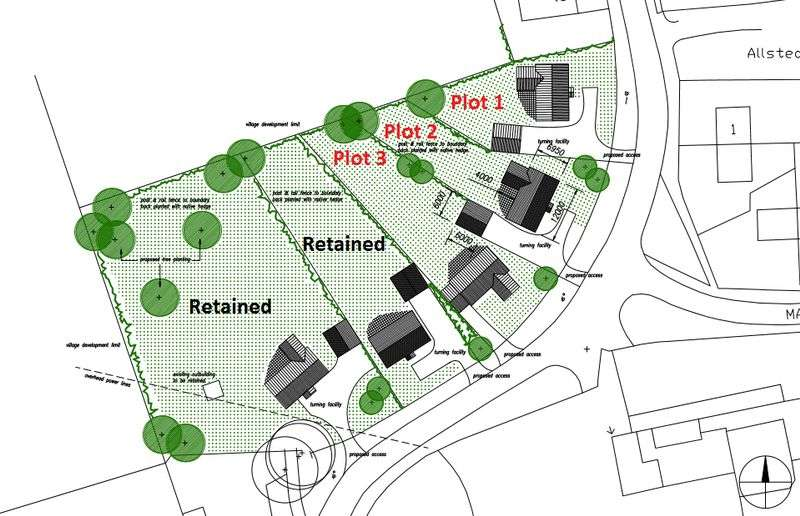 Land Commercial for sale in Building Plot 2, Fen Road, East Kirkby, Near Spilsby