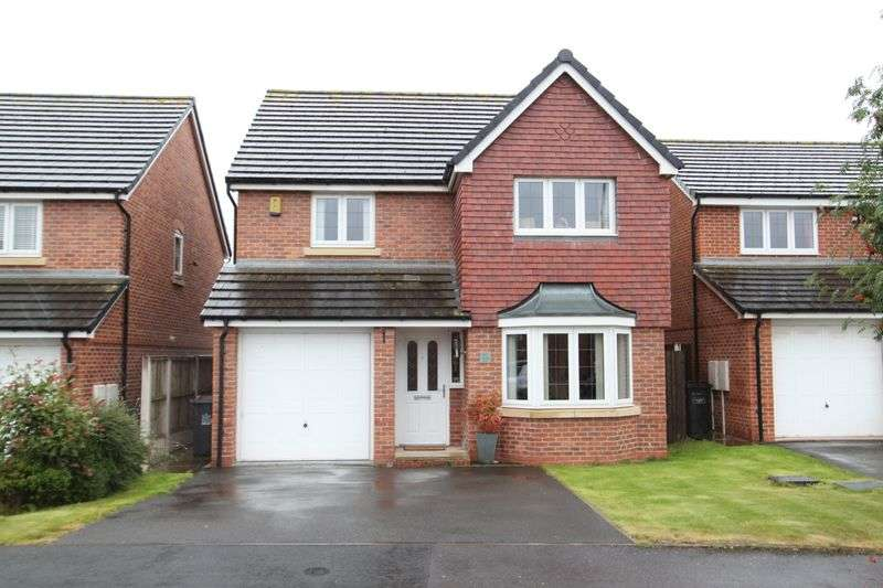 4 Bedrooms Detached House for sale in Galingale View, Newcastle