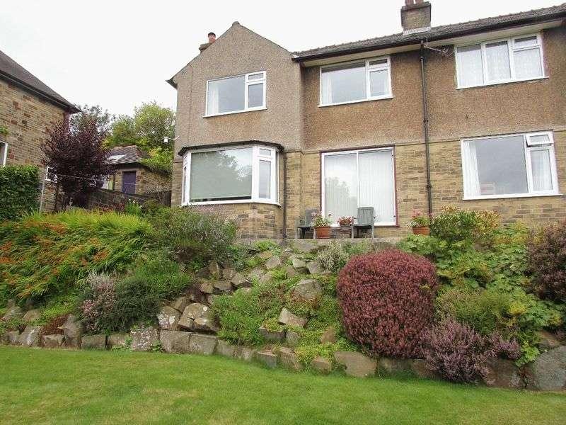 3 Bedrooms Semi Detached House for sale in Royd Mount, Hebden Bridge