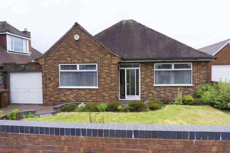 2 Bedrooms Detached Bungalow for sale in Westminster Road, Rushall, Walsall