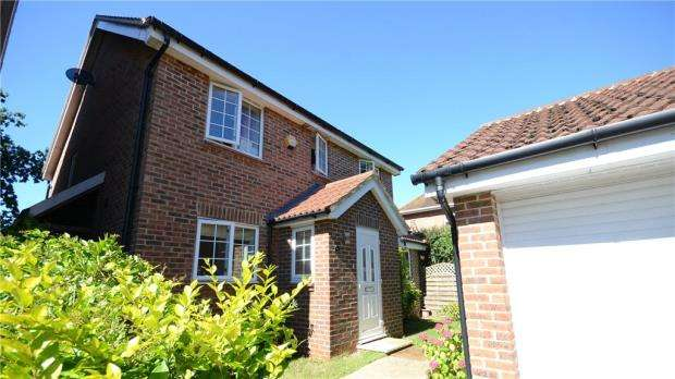 4 Bedrooms Detached House for sale in Allfrey Grove, Spencers Wood, Reading
